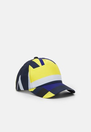 BASEBALL ALLOVER BASEBALL CAP ALLOVER UNISEX - Cap - yellow/blue/white