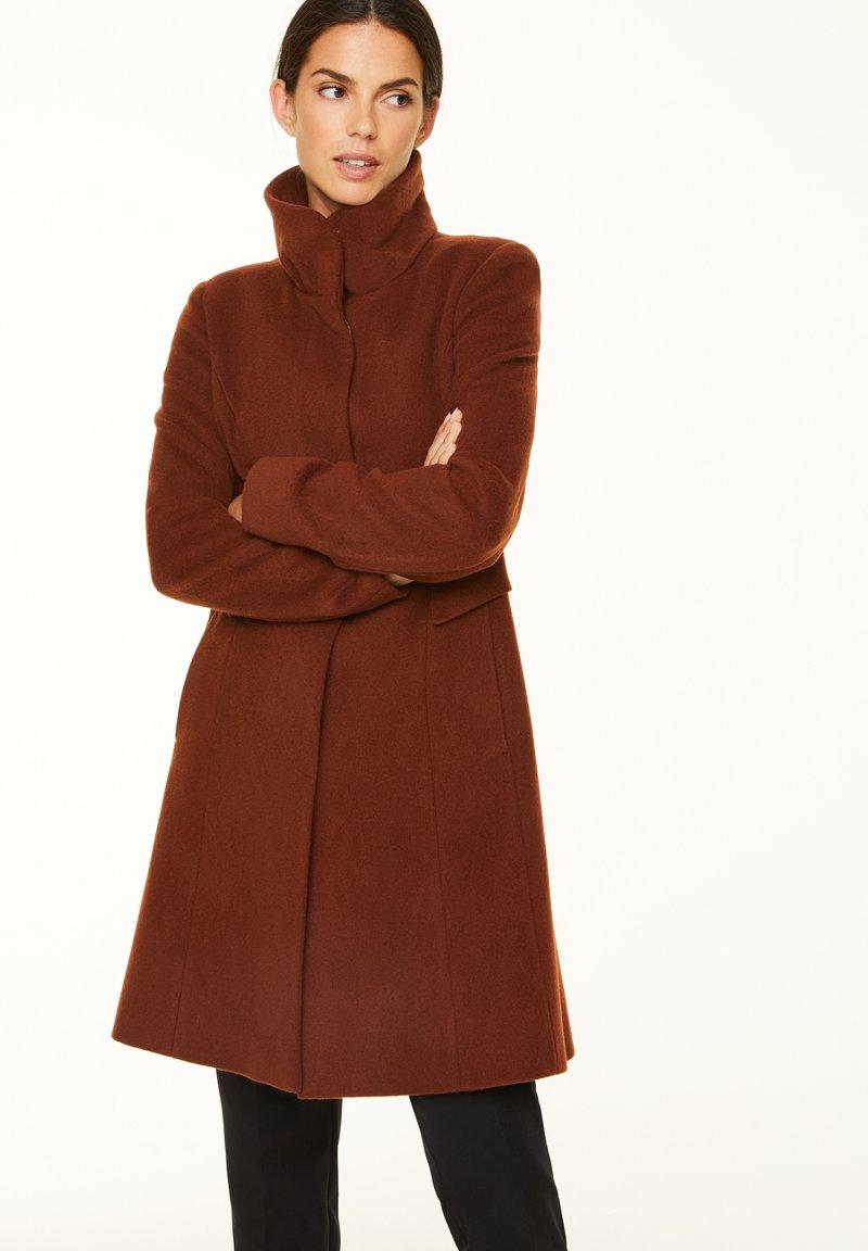 comma - Classic coat - chestnut