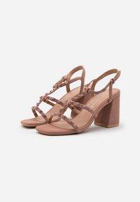 New Look - STAFFY - Sandály na vysokém podpatku - oatmeal - 2