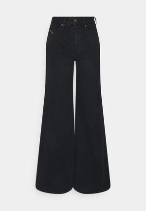 D-AKEMI - Flared Jeans - washed black