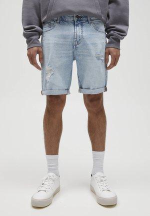 Jeans Short / cowboy shorts - light-blue denim