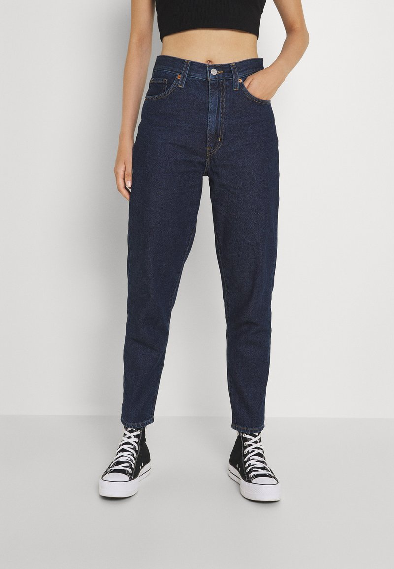 Levi's® - HIGH WAISTED MOM JEAN - Jeans Tapered Fit - ocean
