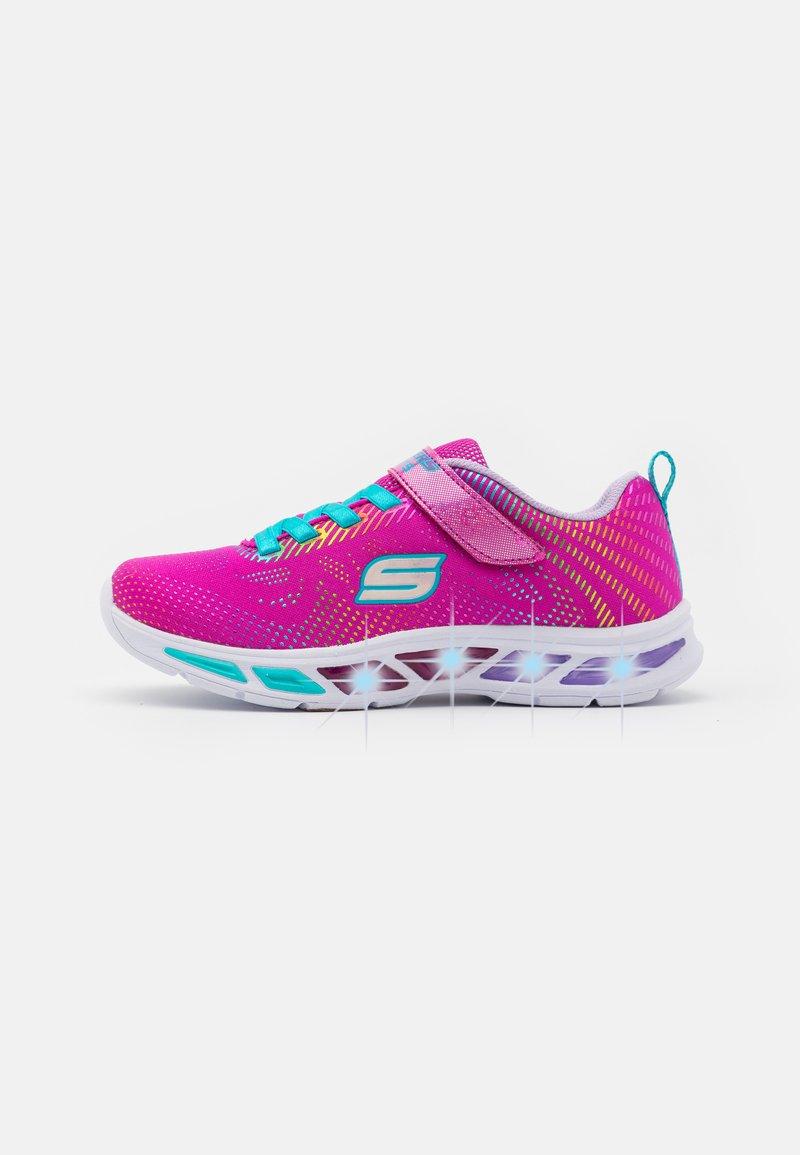 Skechers - LITEBEAMS - Sneakers laag - neon pink/multicolour