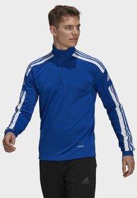 adidas Performance - Zip-up hoodie - blue - 0