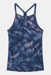 Abercrombie & Fitch - BACK DETAIL ACTIVE TANK - Toppe - blue - 1
