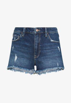 ROSIE - Denim shorts - dark blue