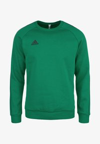 adidas Performance - CORE ELEVEN FOOTBALL LONG SLEEVE PULLOVER - Sweater - green - 0