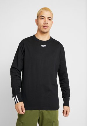 R.Y.V. LONG SLEEVE T-SHIRT - Top s dlouhým rukávem - black