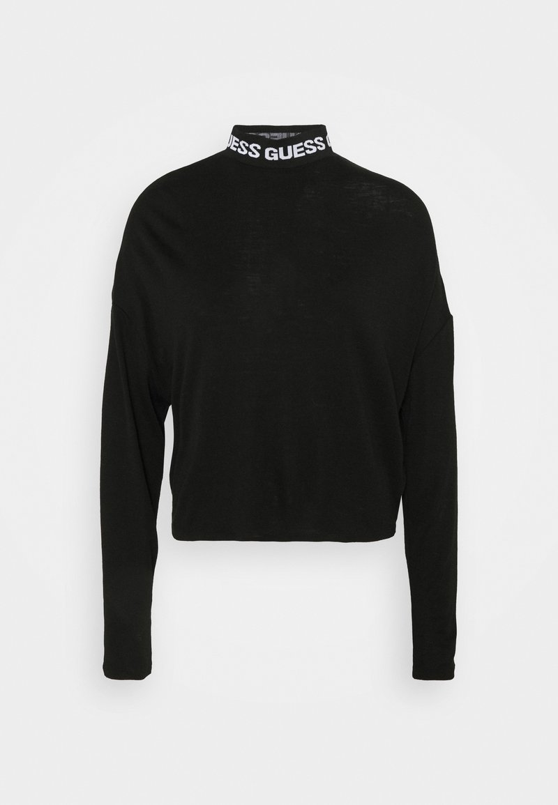 Guess - CHAHIDA - Long sleeved top - jet black