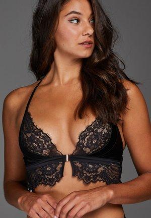 CELESTE - Triangle bra - black