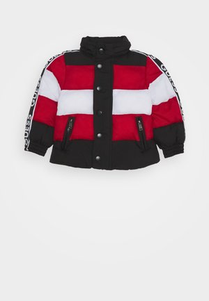 PADDED JACKET BABY UNISEX - Winterjas - black/red/white fant