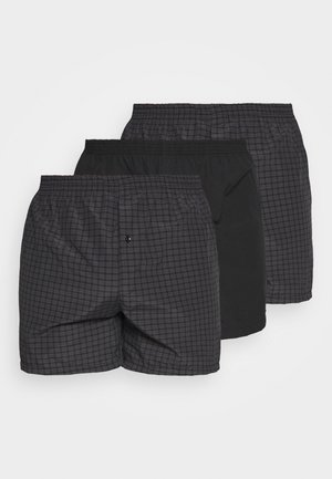 3 PACK - Trenýrky - black