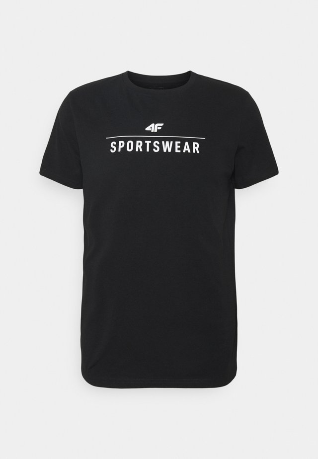 Men's T-shirt - Print T-shirt - black