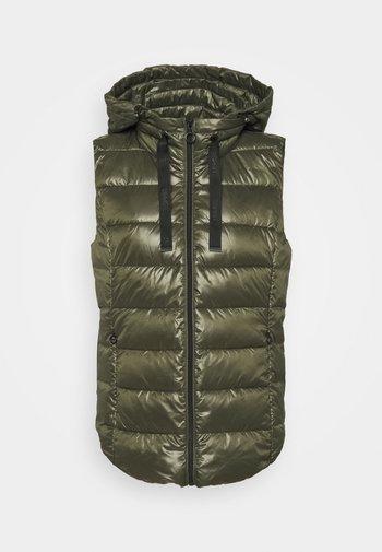ULTRA LIGHT VEST - Waistcoat - dark khaki