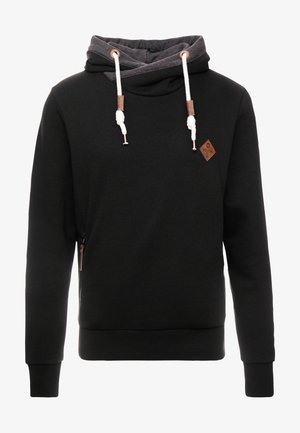 BATCHELOR - Kapuzenpullover - black