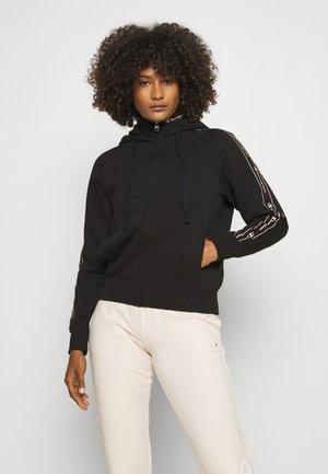 FULL ZIP - Sweat à capuche zippé - black
