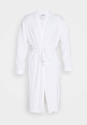 BATHROBE - Dressing gown - white
