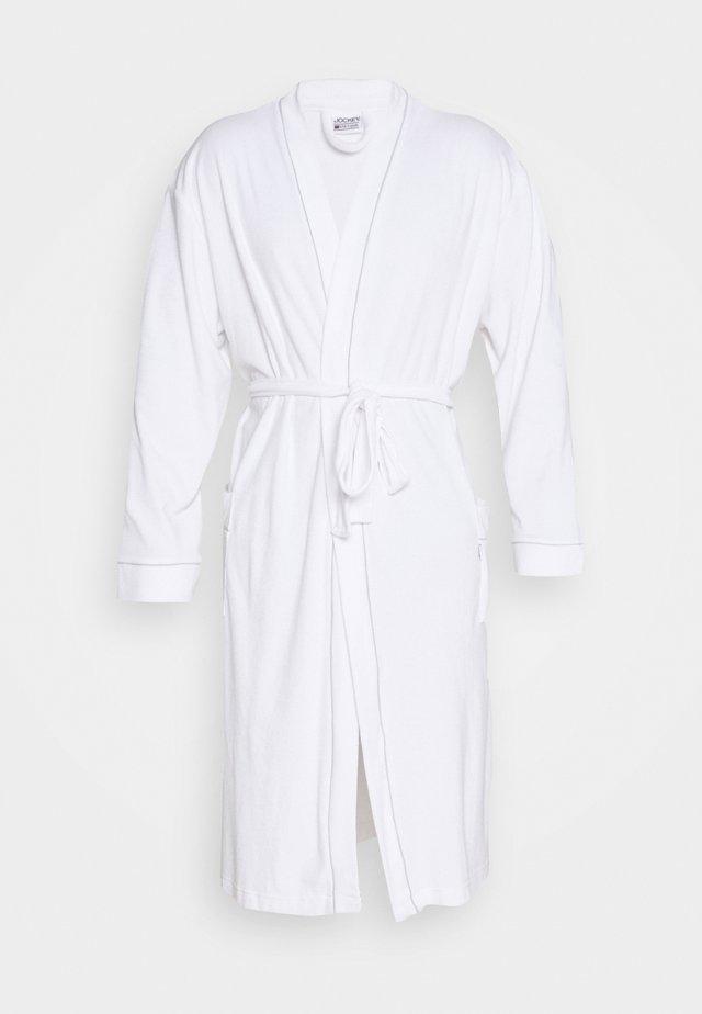 BATHROBE - Dressing gown - white
