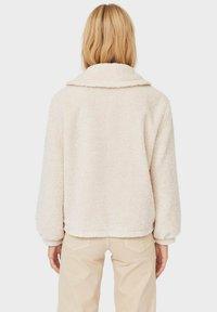 Stradivarius - Fleece jacket - white - 2