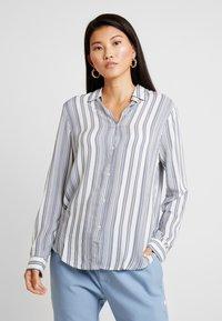 Cotton On - RACHEL EVERYDAY SHIRT - Button-down blouse - grey - 0