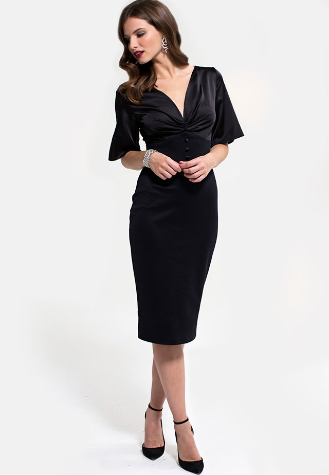 EMMA - Shift dress - black