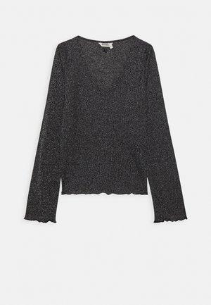 APEK - Bluzka z długim rękawem - black