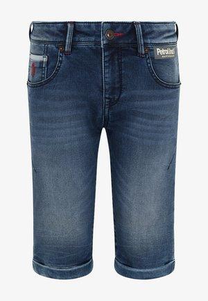 Jeansshort - medium blue
