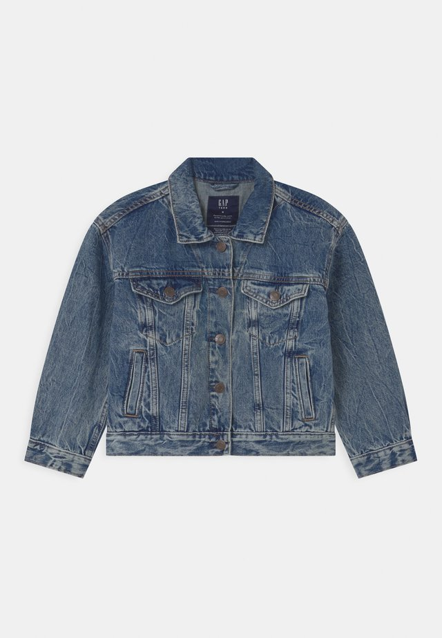 GIRL TEEN  - Denim jacket - blue denim