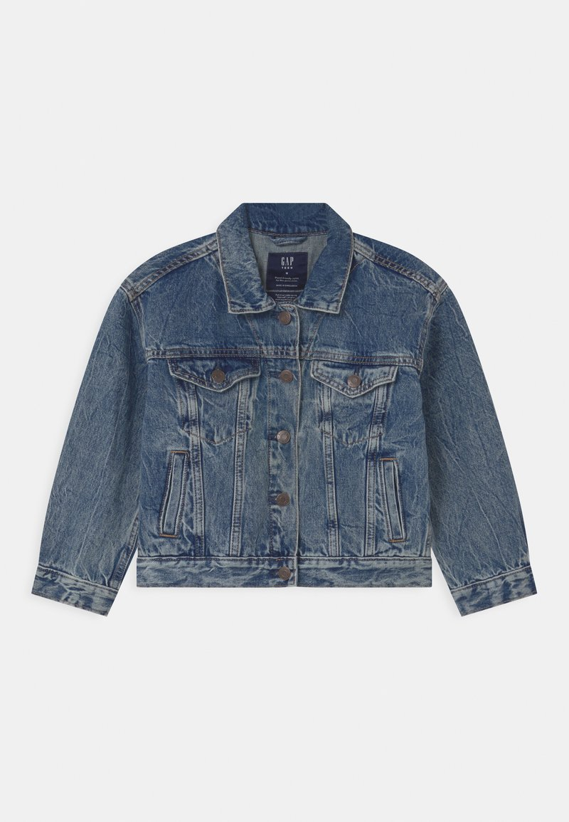 GAP - GIRL TEEN  - Giacca di jeans - blue denim