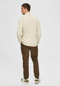 Selected Homme - Pullover - bone white - 2