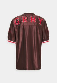 Grimey - THE LOOT FOOTBALL JERSEY - Print T-shirt - brown - 1