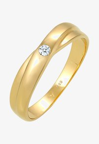 DIAMORE - WICKELRING SOLITÄR - Ring - gold-coloured - 2