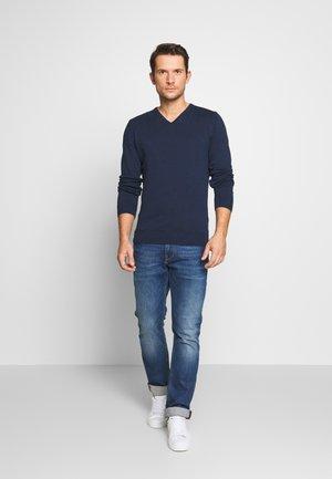 2PACK - Stickad tröja - dark blue