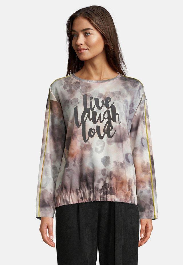 Sweatshirt - nature-grey