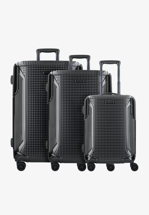 3SET - Set de valises - black