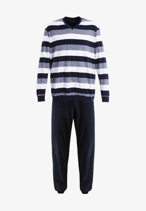 LANG SET - Pyjama set - dunkelblau
