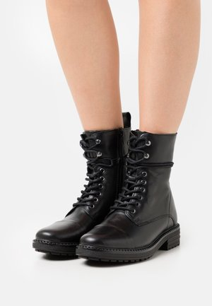 ONORESSA - Lace-up ankle boots - black