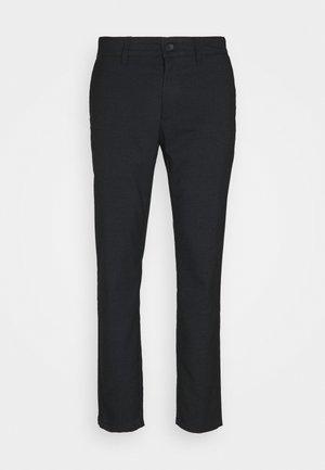 ONSMARK PANTS CHECK - Trousers - dark blue