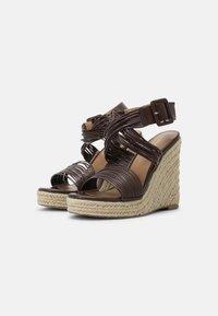 Even&Odd - Platform sandals - brown - 2