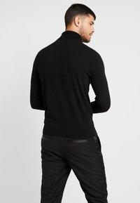 Burton Menswear London - CORE ROLL - Jumper - black - 2