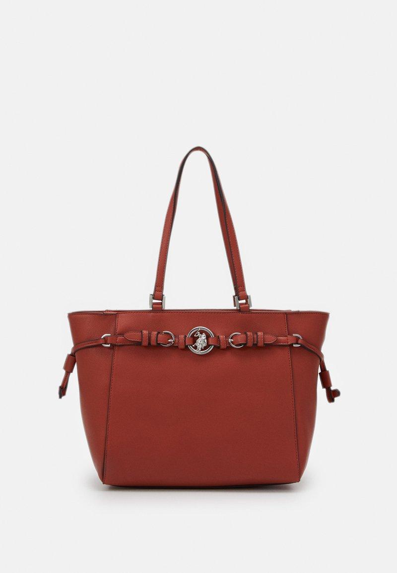 U.S. Polo Assn. - DELAWARE - Handbag - rust