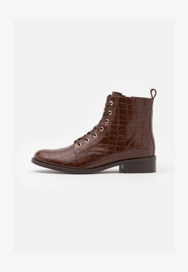 FIBI - Veterboots - marron