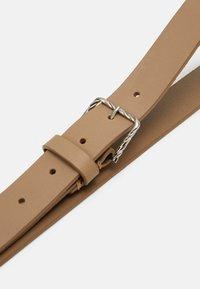 Zign - LEATHER - Belt - beige - 2