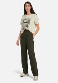 MARGITTES - Print T-shirt - offwhite/multicolor - 1