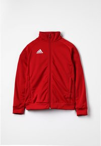 adidas Performance - CORE 18 FOOTBALL TRACKSUIT JACKET - Training jacket - power red/white - 0