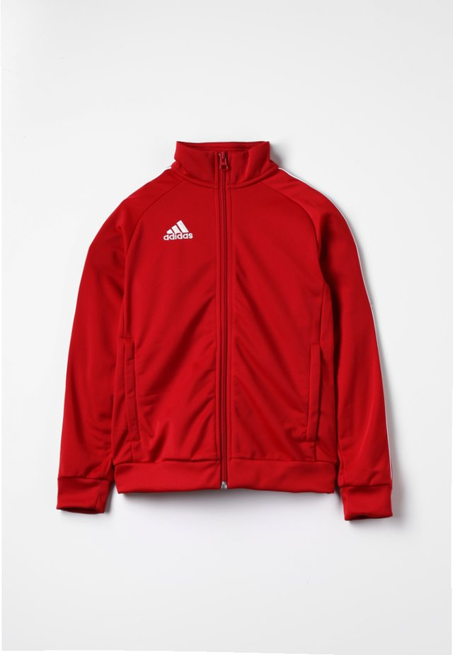CORE 18 FOOTBALL TRACKSUIT JACKET - Chaqueta de entrenamiento - power red/white