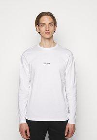 Les Deux - LENS - Long sleeved top - white/black - 0