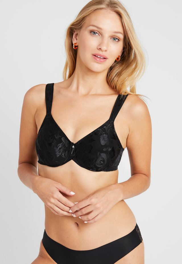 AWARENESS SEAMLESS UNDERWIRE BRA - Beugel BH - black