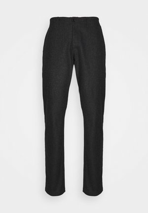 DÉJÀ VU TROUSERS - Broek - charcoal