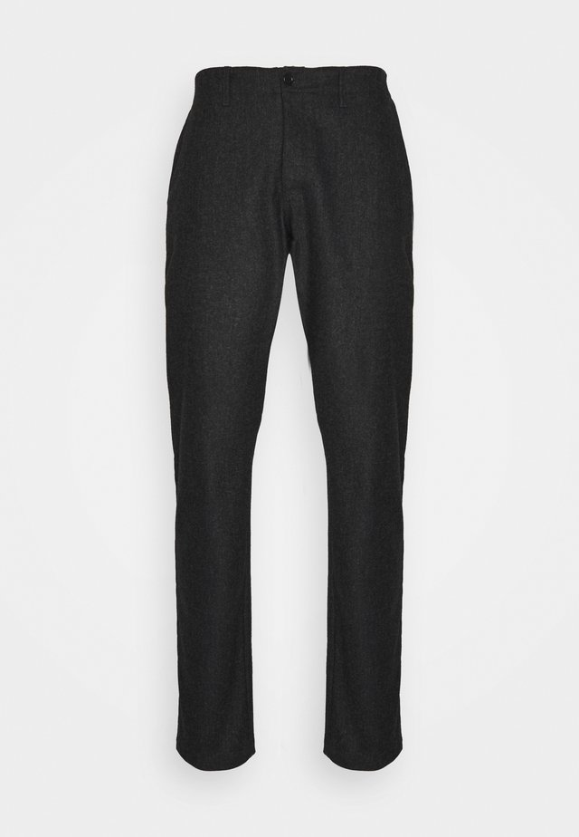 DÉJÀ VU TROUSERS - Bukse - charcoal